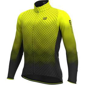 Alé Cycling R-EV1 Velocity Wind Graphene Maglia Jersey A Maniche Lunghe Uomo, giallo/nero